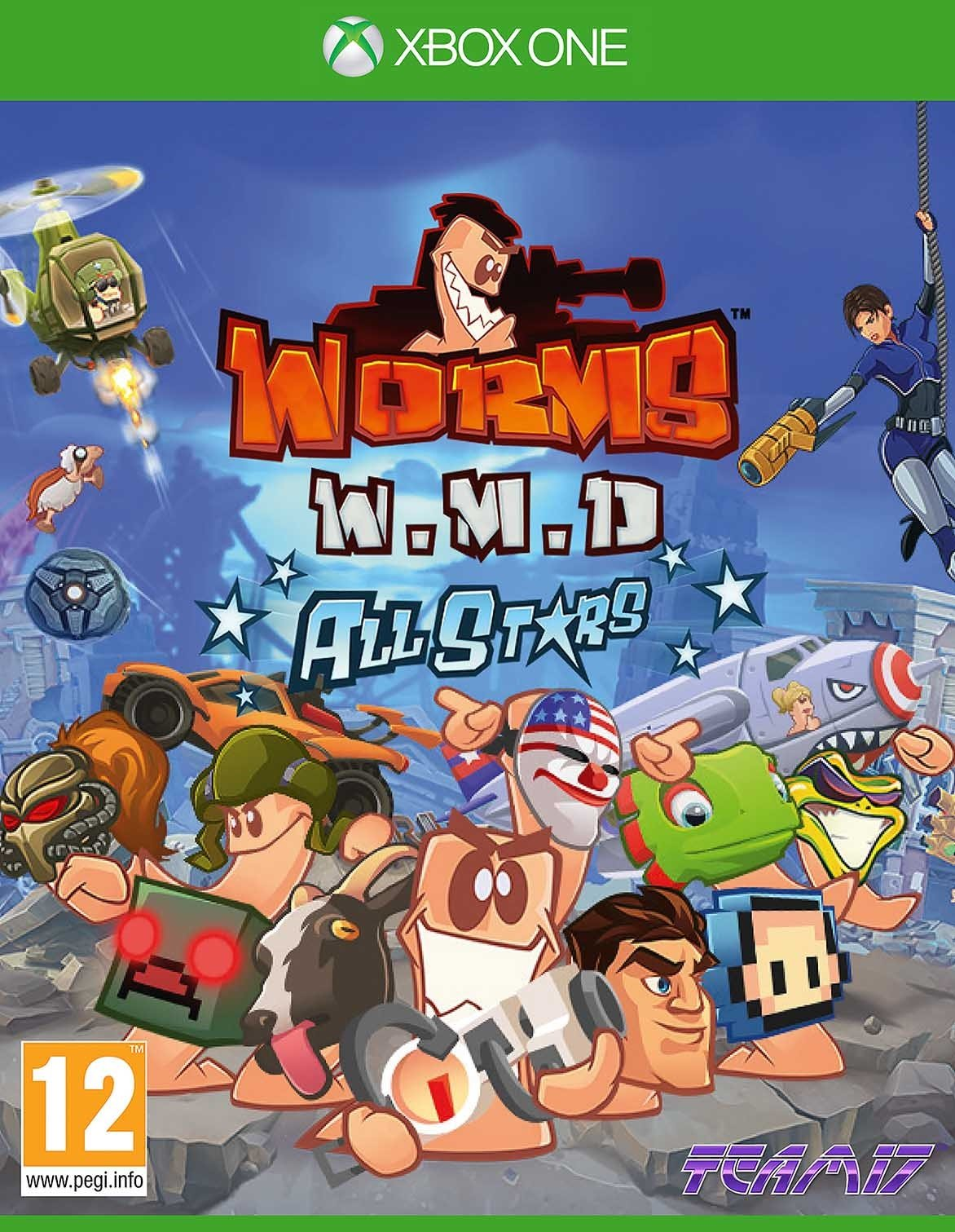 Worms: W.M.D. All Stars