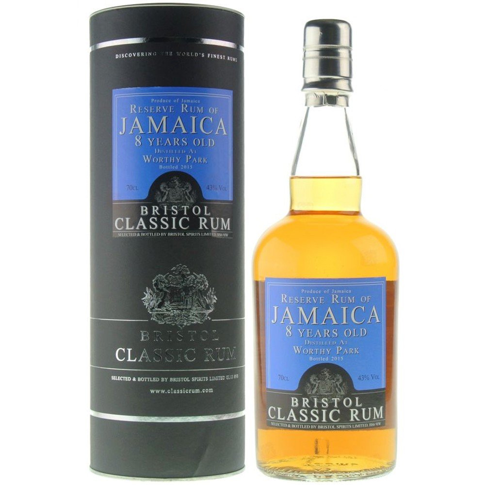Køb Bristol Classic - Reserve Rum of Jamaica 8 Year Old, 70 cl