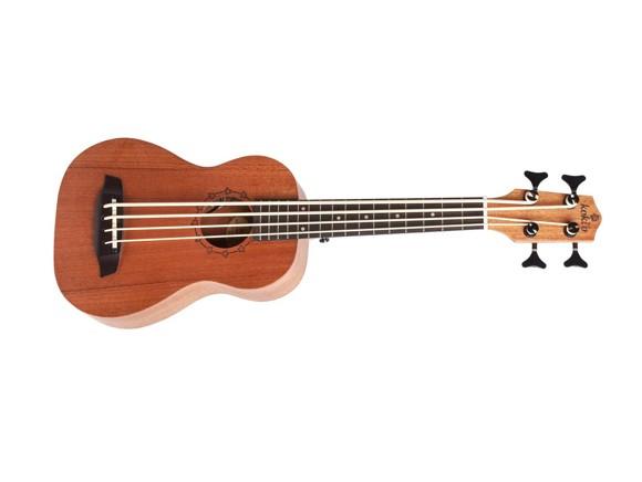 RISA - Koki'o Mahogany Bass, Fretted  - Akustisk/Elektrisk Bas Ukulele