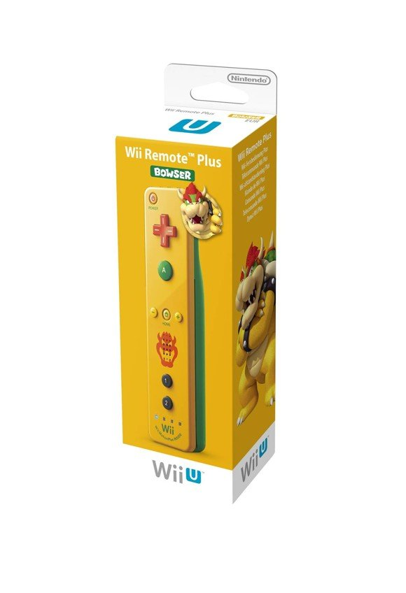 Wii U Remote Plus Bowser Edition (For Wii and Wiiu)