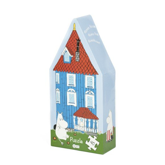 Barbo Toys - Puzzle - Moomin House Deco Puzzle (6605)