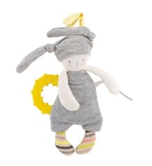 Moulin Roty - Rabbit teething ring (663005)