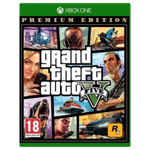 Buy Grand Theft Auto V (GTA 5) Premium Online Edition - Xbox One - English  - Complete Collection - Incl. shipping