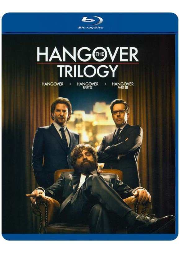 Hangover Trilogy, The (Blu-Ray)