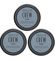 American Crew - 3x Fiber Voks 85 gr.