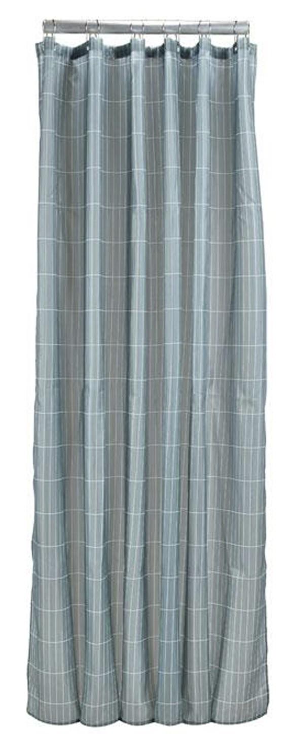 Zone - Tiles Shower Curtain 200 x 180 cm - Cameo Blue (332071)
