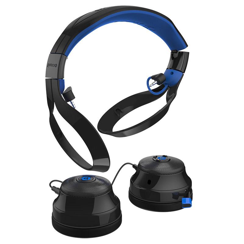 Buy Gioteck FL 400 Bluetooth Headset BlackBlue