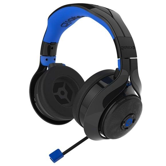 Gioteck FL-400 Bluetooth Headset - Black/Blue
