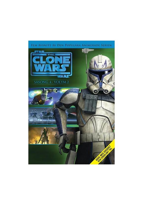 Star Wars - The Clone Wars - Season 4 vol 2 - DVD