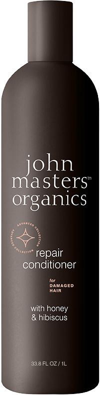 John Masters Organics - Repair Conditioner for Damaged Hair w. Honey & Hibiscus 1000 ml