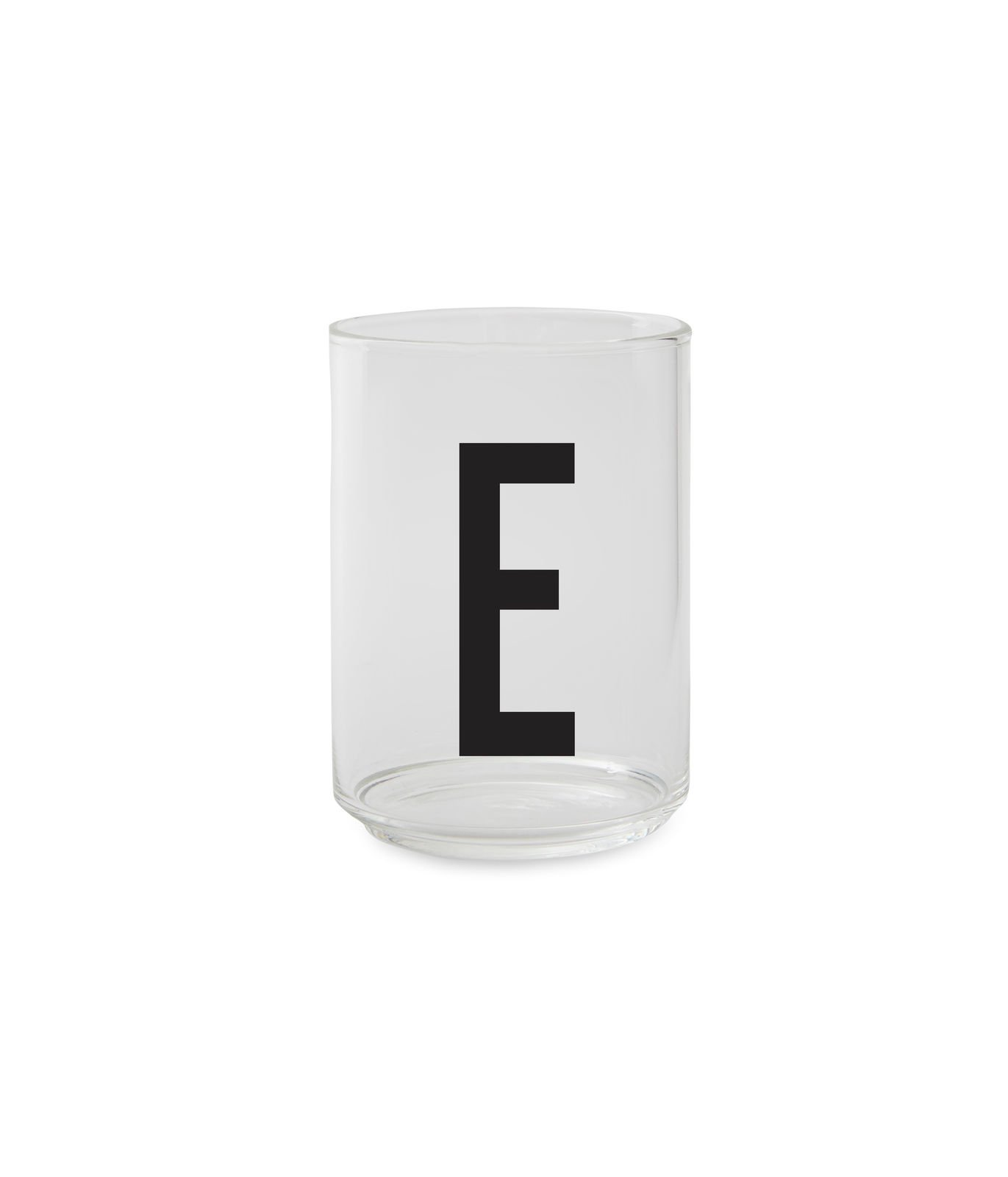 ​Design Letters - Personal Drinking Glass E