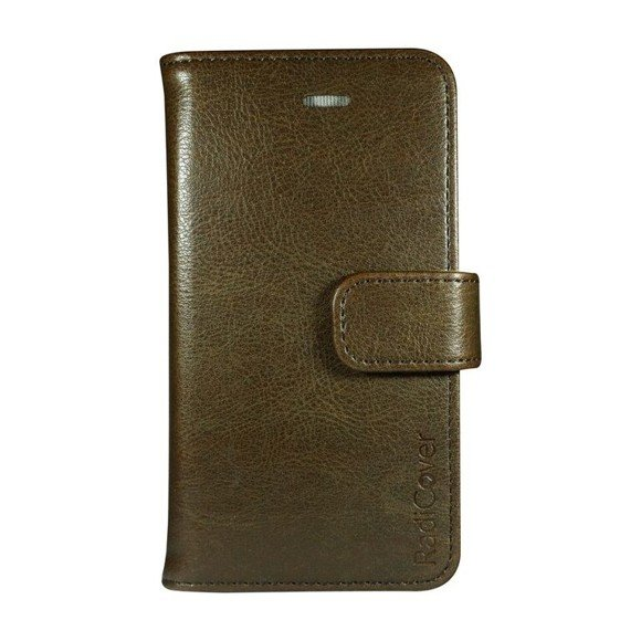 """RadiCover - Flipside """"Fashion"""" Stand Function - iPhone 6/7/8/SE - Brown"""