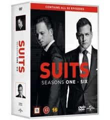 Suits - Season 1-6 - DVD