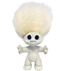 Good Luck Troll - Gjøl Trold 9 cm - Cream/Cream (93394)