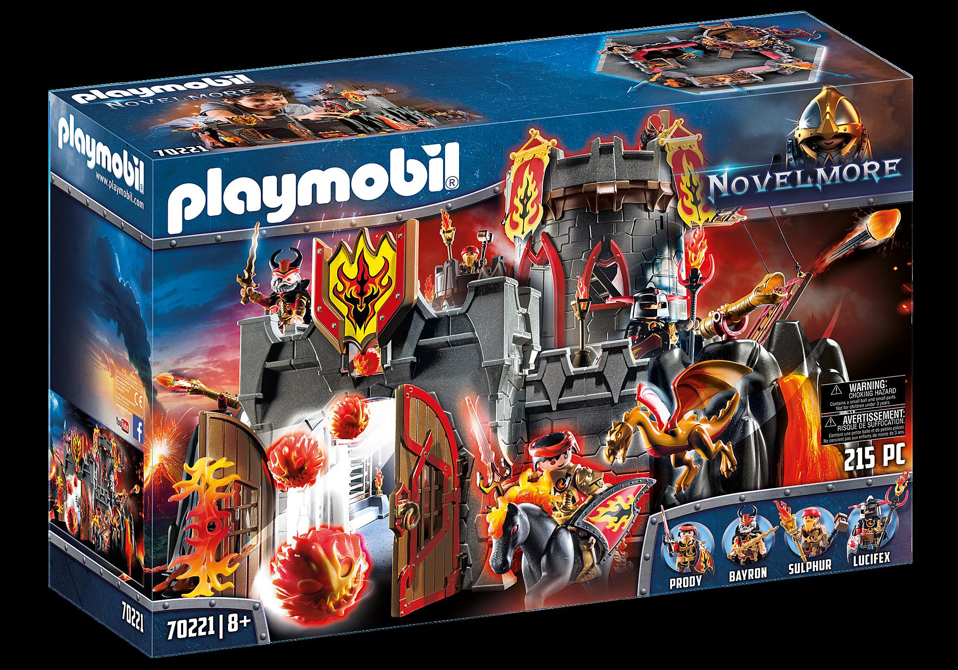Playmobil - Flamerock Fortress (70221)