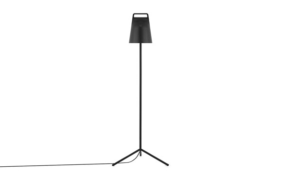Normann Copenhagen - Stage Gulvlampe - Sort