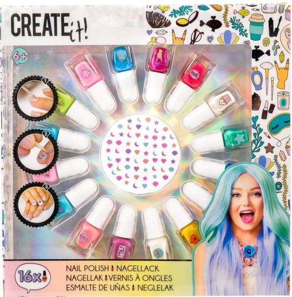 CREATE IT! Nailpolish Set Mermaid 17 Pack (84145)