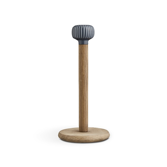 Kähler - Hammershøi Paper Towel Holder - Grey (693036)