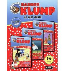 Rasmus Klump og hans venner: Boks 1 (3-disc) - DVD