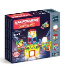 Magformers - Neon LED Sæt (3043)