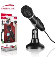 Speedlink Capo Desktop / Handheld Microphone with 3.5mm Jack