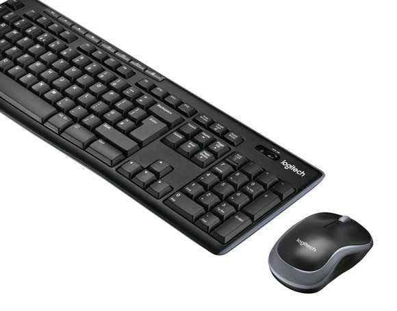 Logitech MK270 Wireless Keyboard and Mouse Combo Set