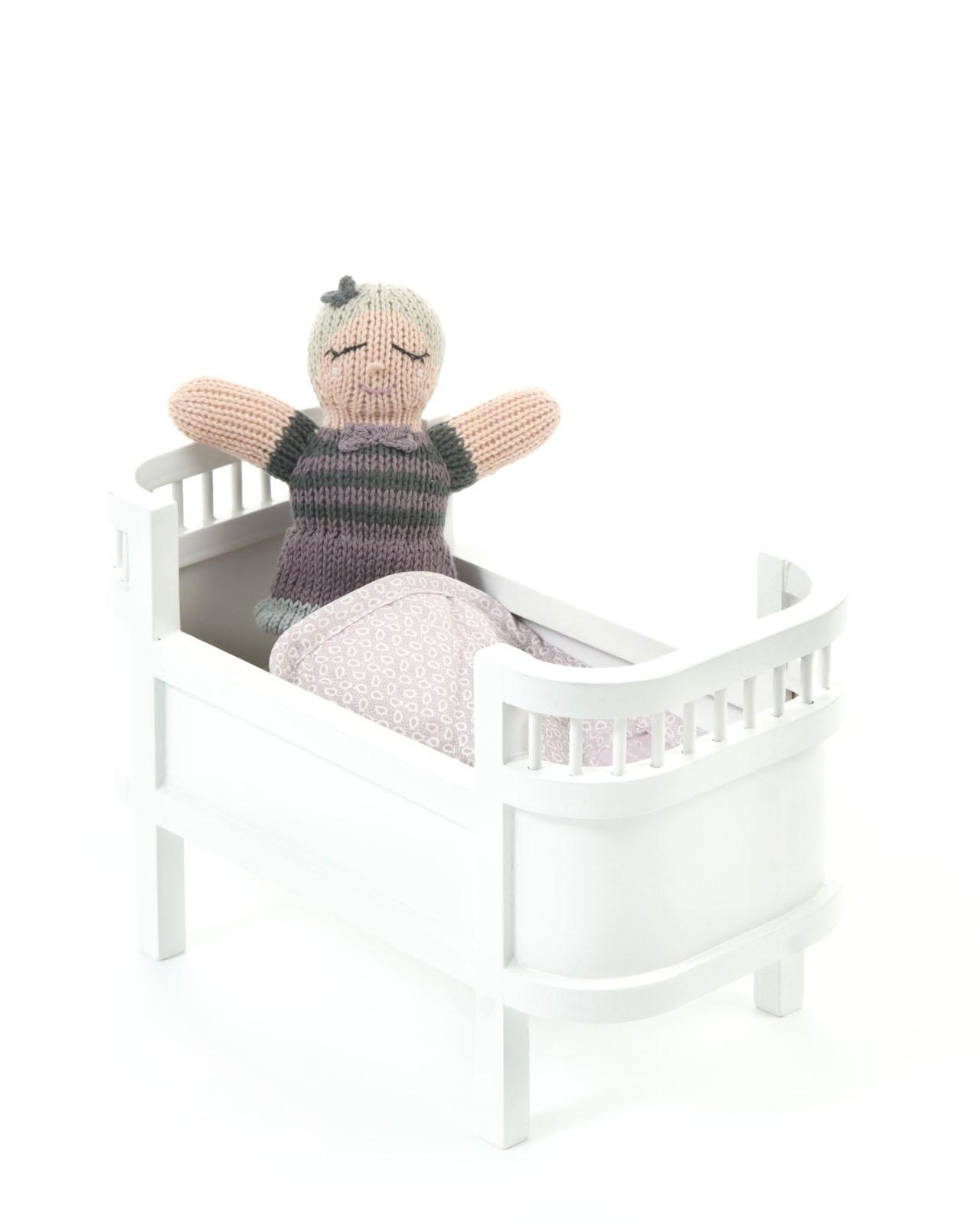 Smallstuff - Rosaline Doll bed miniature