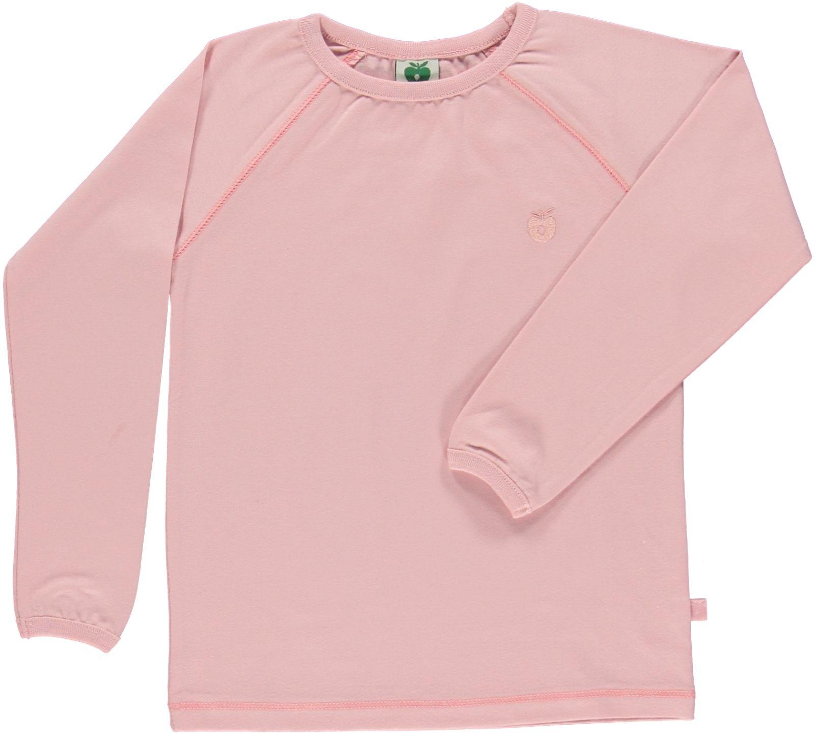 Småfolk - Organic Basic Longsleved T-Shirt - Silver Pink