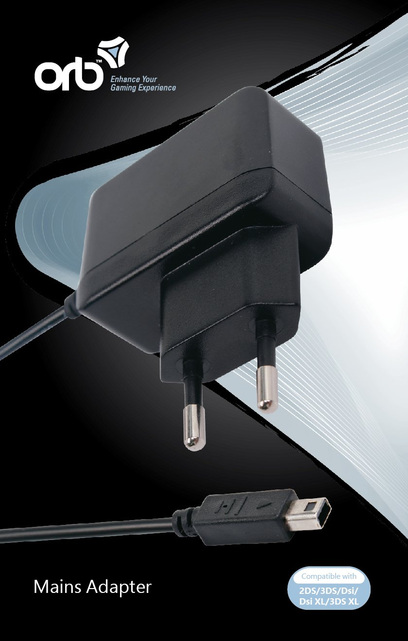 Euro AC Adapter (ORB)