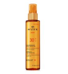 Nuxe Sun - Tanning Olie til Krop og Ansigt 150 ml - SPF 30