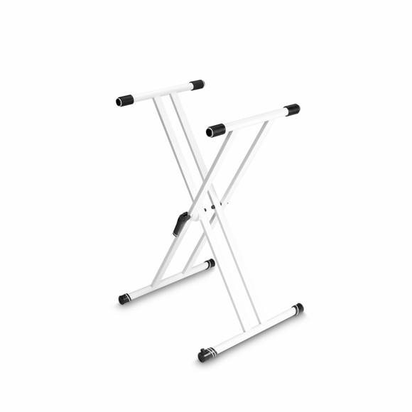 Gravity - KSX 2 W - Double 'X' Keyboard Stand (White)
