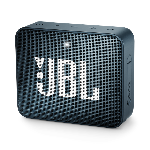 JBL - GO 2 Portable Bluetooth Speaker Slate Navy - E