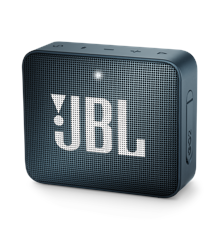 JBL - GO 2 Portable Bluetooth Speaker Slate Navy