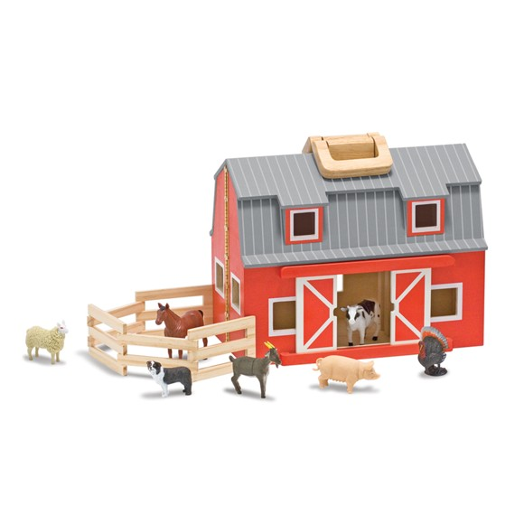 Melissa & Doug - Fold and go Barn (13700)