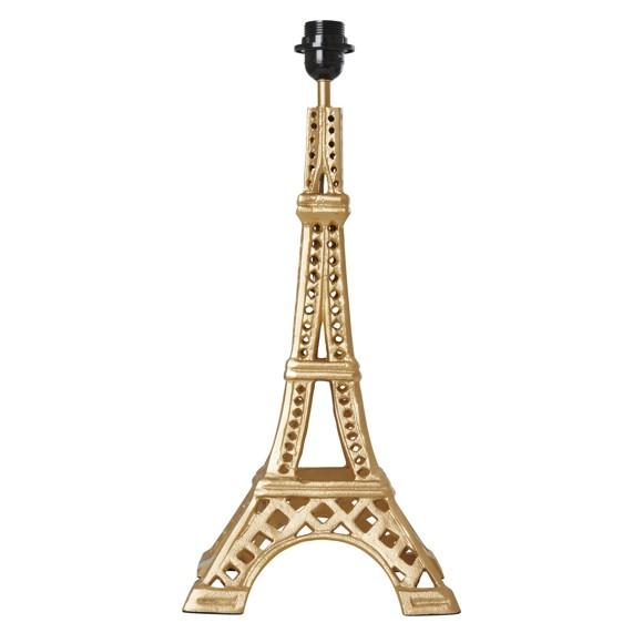 Rice - Metal Guld Bordlampe i Eiffel Tårns Form - Stor