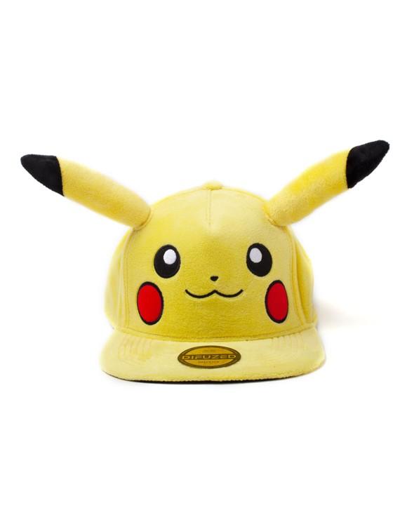 Pokémon - Pikachu Plush Snapback (One-size)