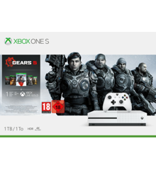 Microsoft Xbox One S - 1TB - (Gears 5 Bundle) + FIFA 20