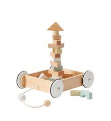 Kids Concept - Vogn med Blokke