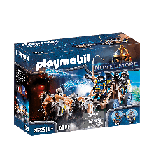 Playmobil - Wolfhaven Riddere med vandkanon (70225)