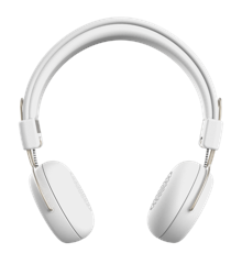 KreaFunk - aWEAR Headphones​ - White/Pale Gold (KDWT91)