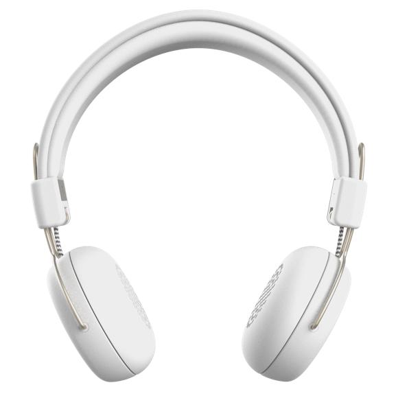 KreaFunk - aWEAR Headphones - White/Pale Gold (KDWT91)