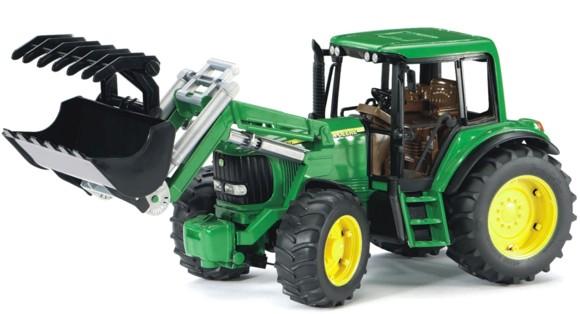 Bruder - John Deere 6920 traktor med frontlæsser (BR2052)