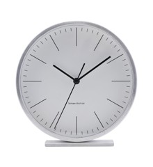 House Doctor - Hannah Table Clock - Silver (EA0701)