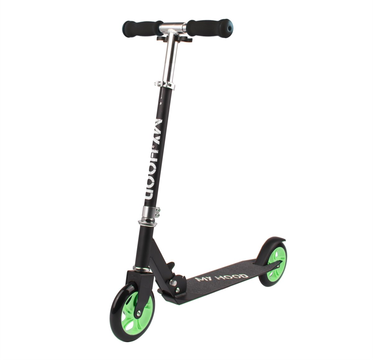 My Hood - Scooter 145 - Black/ Green (505164)