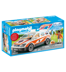 Playmobil - Emergency Car with Siren (70050)