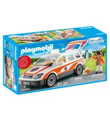 Playmobil - Redningsbil med sirene (70050)