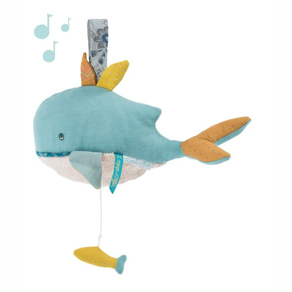Moulin Roty - Musical Whale (714042)