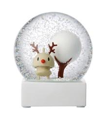 Hoptimist - Snow Globe - Rudolf (91002-95)