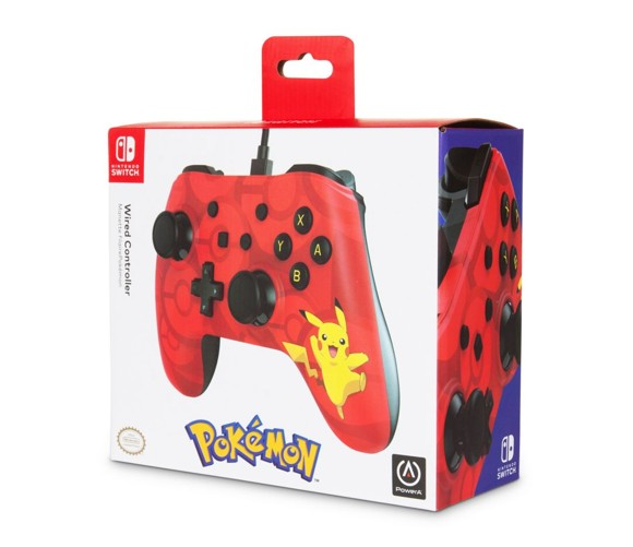 Power A Nintendo Switch Wired Controller Pikachu
