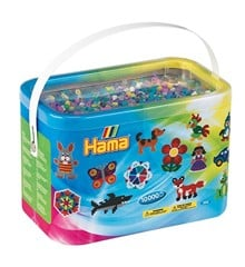 HAMA Beads - Midi - 10.000 Beads in Bucket - Mix 69 (202-69)